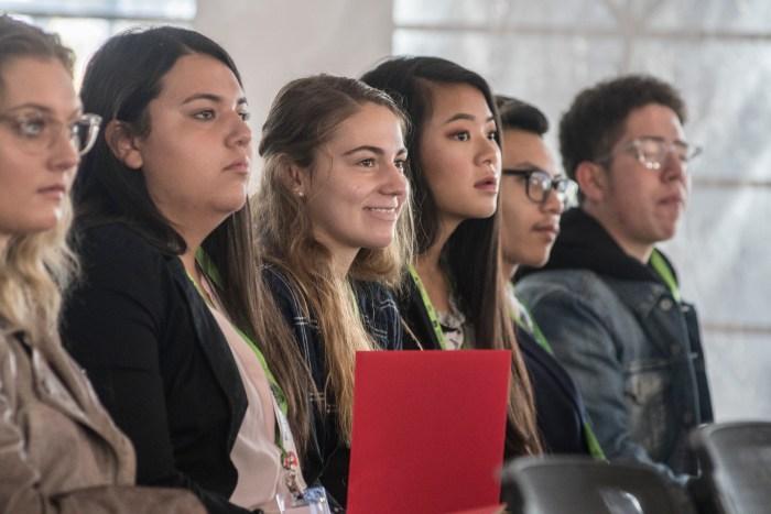 Students at Denver Startup Week with Junior Achievement