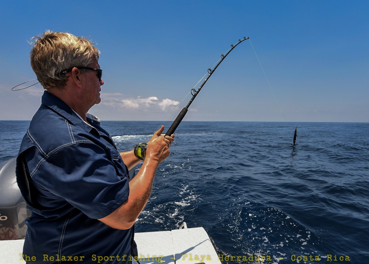Fighting a Sailfish