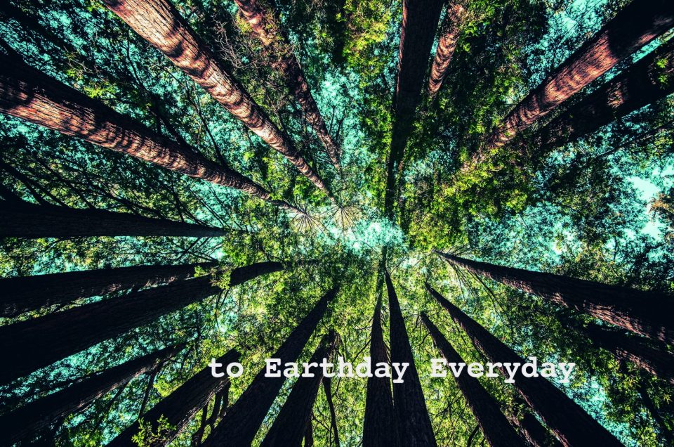 To Earthday everyday