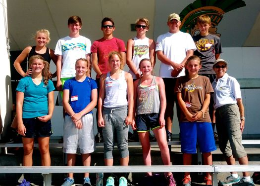 Distance Runner campers