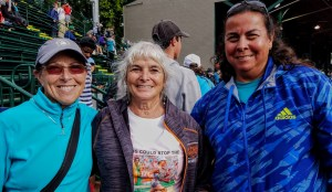 JQ, Judy Ikenberry & Marie Albert (as in Race Central)