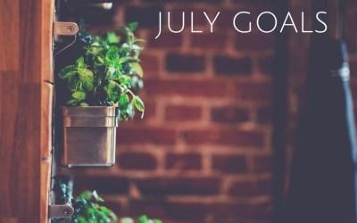Thrive | July 2017 Goals