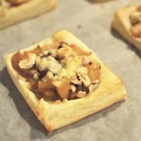 Apple Gorgonzola Tart recipe appetizer Jacquelynne Steves