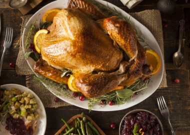 Thanksgiving-turkey-with-side-dishes