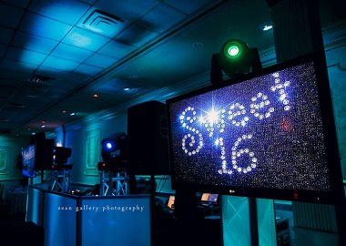Sweet 16 Party in Lights