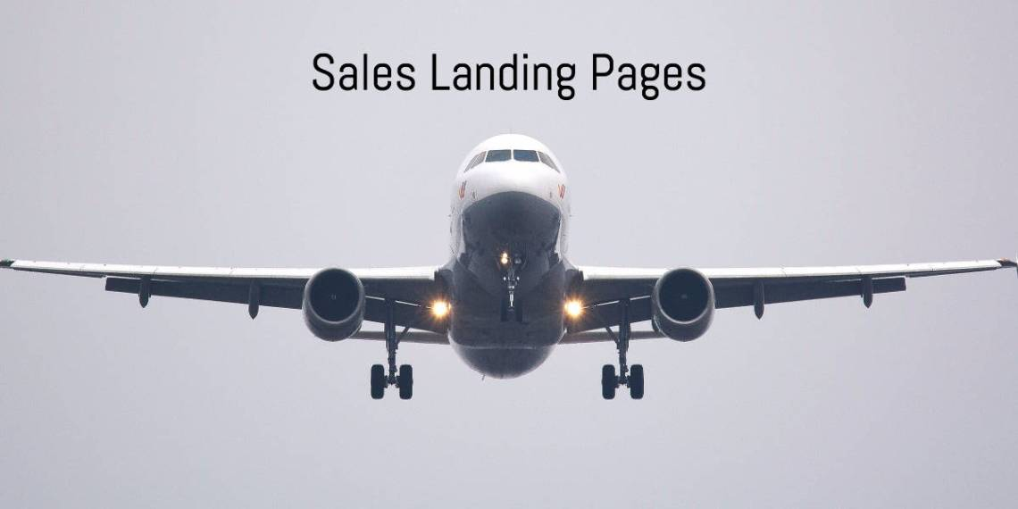 Sales Landing Pages