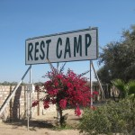 East Gate rest camp Namibi Botswana border