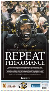 University of Missouri Football 2014 SEC East Champions designed by JA Creative Group
