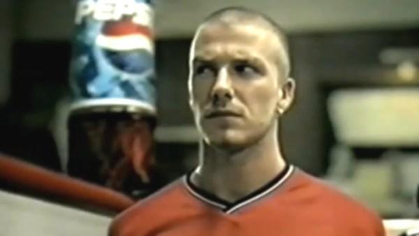 David Beckham, Pepsi