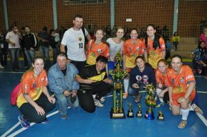 Esporte Clube Revelação campeão do regional feminino