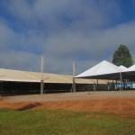 EXPOJAC 2018 e 26º ENCONTRO DE MULHERES: Estrutura do Parque está quase pronta para receber evento.