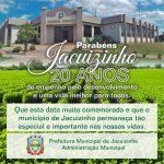 Nosso município esta de aniversario…