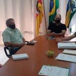 ATENDIMENTO HOSPITALAR: Prefeito Diniz e Secretário Sidnei, realizam reunião com gestores de Salto do Jacuí.