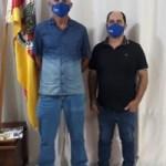 ENCONTRO DE GESTORES: Vice-prefeito Aroldo Moraes realiza reunião com prefeito de Salto do Jacuí