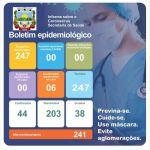 Boletim Epidemiológico Covid-19 (01/02/2021)