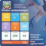 Boletim Epidemiológico Covid-19 (10/02/2021)