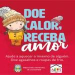 SOLIDARIEDADE: Lançada a Campanha do Agasalho em Jacuizinho.