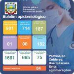 Boletim Epidemiológico Covid-19 (04/08/2021)