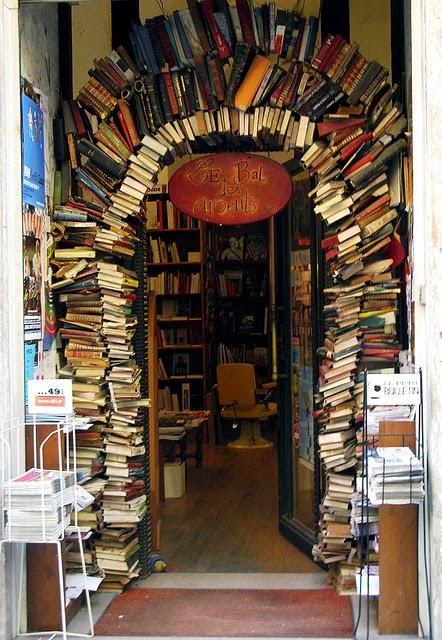 Book Store Entrance, Lyon, France