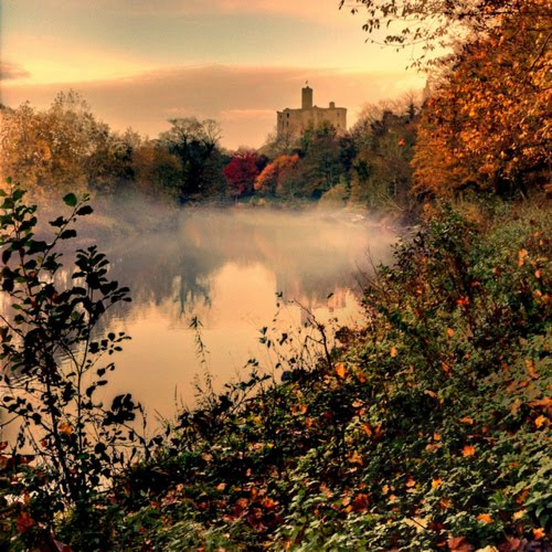 Castle in the Mist, Warkworth, England
