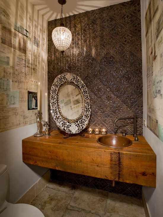 Eclectic Powder Room (Chicago)