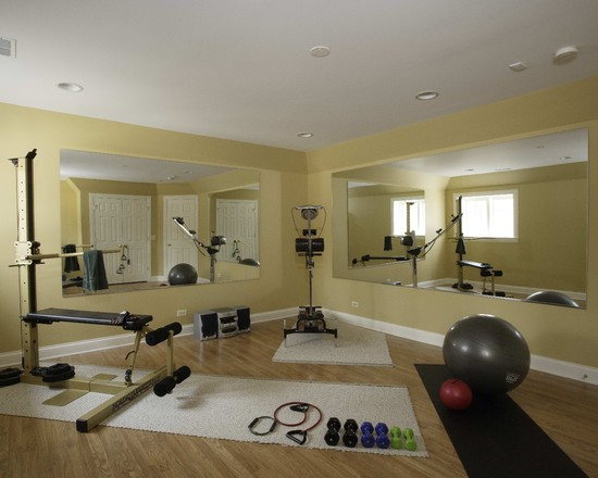 Basement Exercise Room (Chicago)