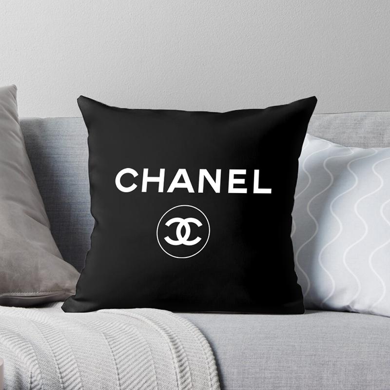 chanel decor pillow case soft cushion cover