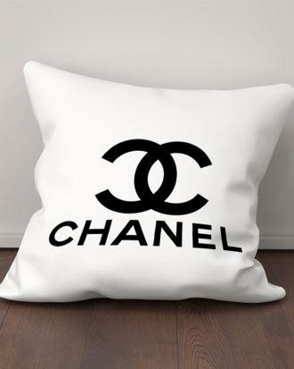 chanel decor pillow case soft cushion