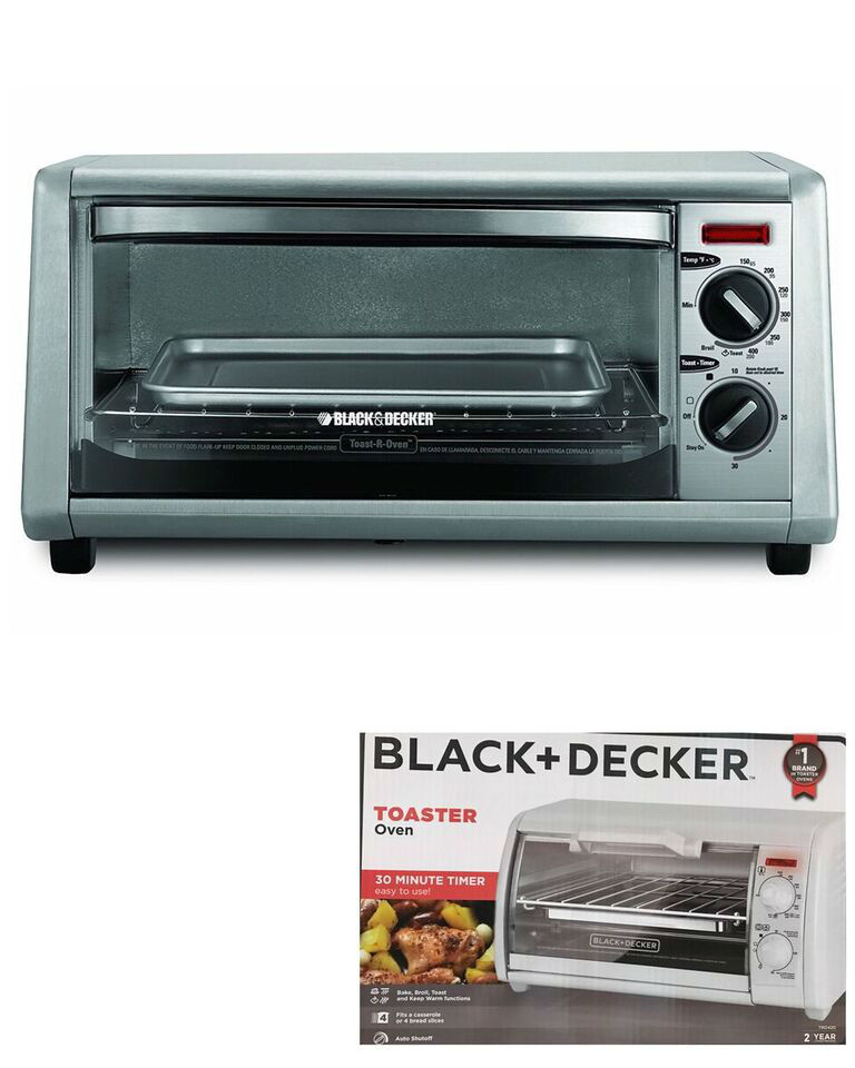 Oven And Decker Toaster White Black