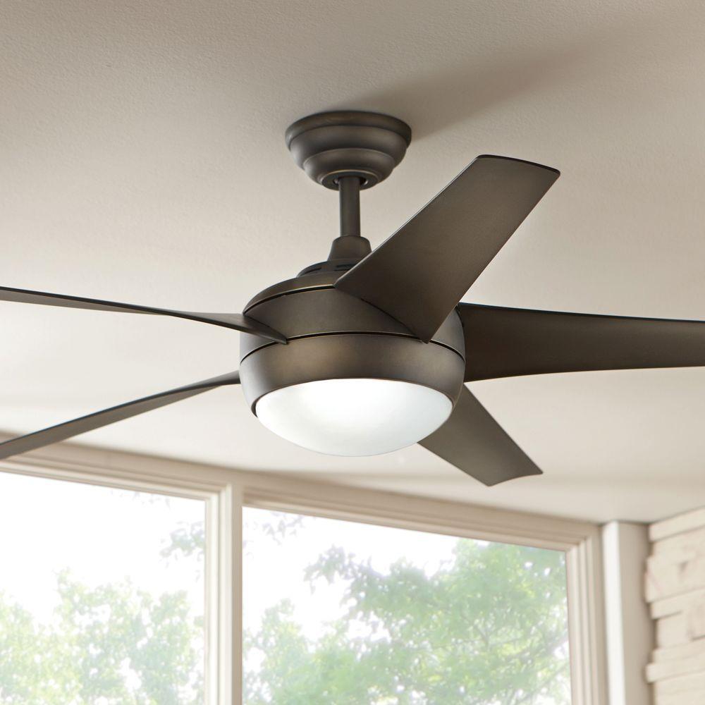 Windward Iv 52 In Indoor Oil Rubbed Bronze Ceiling Fan