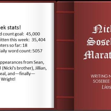 One Week of Marathon Writing
