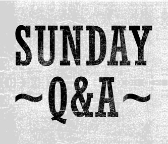 Sunday Q&A: Book Series