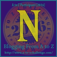 A to Z Challenge:  N is for NAUGHTY
