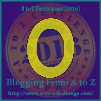 A to Z Challenge:  O is for ONLY