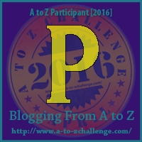 A to Z Challenge:  P is for PETE