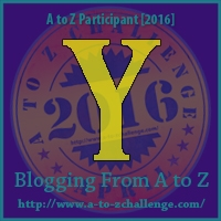 A to Z Challenge:  Y is for YOUNG