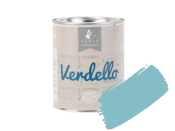 Peinture E202 Turquoise - 1 L Verdello