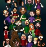w00tstock cast as Muppets