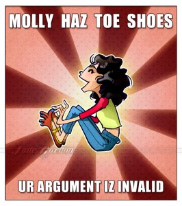 Molly Lewis Haz Toe Shoez and you do not... probably.