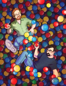 Paul and Storm Ball Pit