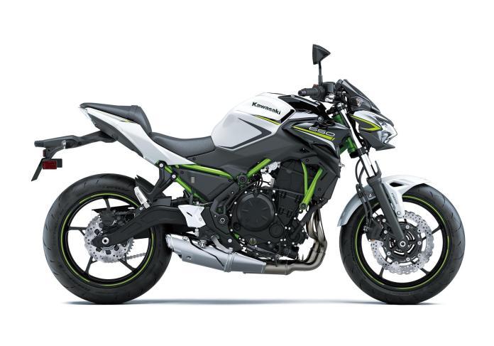 Modelo SE blanco con chasis verde