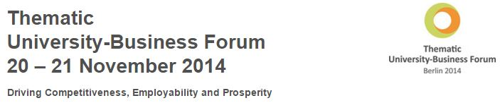 University-Business Forum 2014