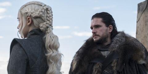 Jon Snow Daenerys Targaryen Jade Seba Game Of Thrones