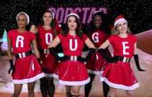 rouge brilha la luna meninas malvadas mean girls natal jingle bell rock