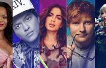Rihanna, Ed Sheeran, Camila Cabello, Bruno Mars e mais! Veja os indicados ao iHeartRadio Music Awards 2018