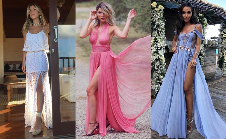 Resultado de imagem para Vestido de fenda: saiba como usar a peça para compor um look poderoso