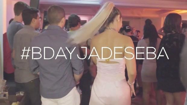 vlog fiz uma house party e olha no que deu jade seba