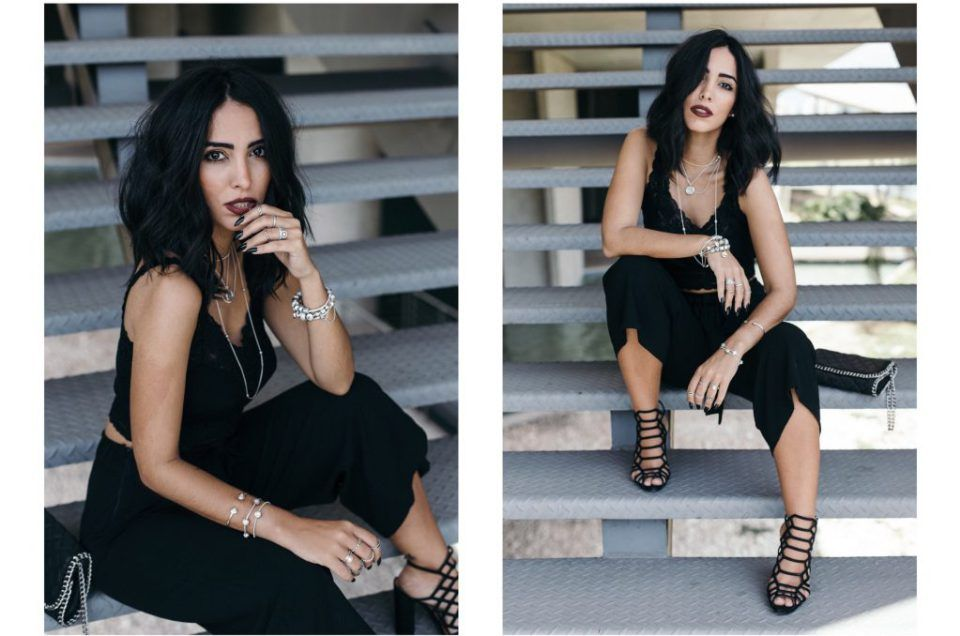All black: como usar o look todo preto