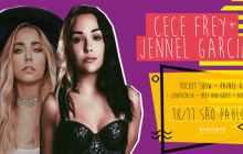 CeCe Frey e Jennel Garcia farão Pocket Show no BRASIL NeoTimes Entretenimento