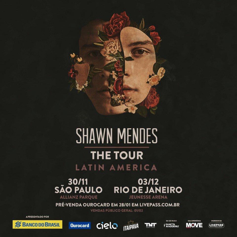CONFIRMADO! Shawn Mendes anuncia datas de shows no Brasil! 0